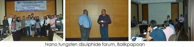 nano tungsten disulphide forum
