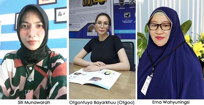 women in charge of techenomics laboratories